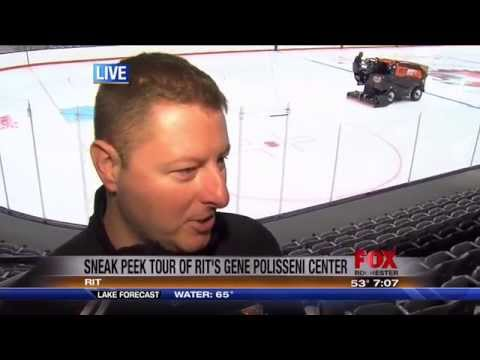 RIT on TV: WUHF previews Polisseni Ice Center LIVE (Part 1)