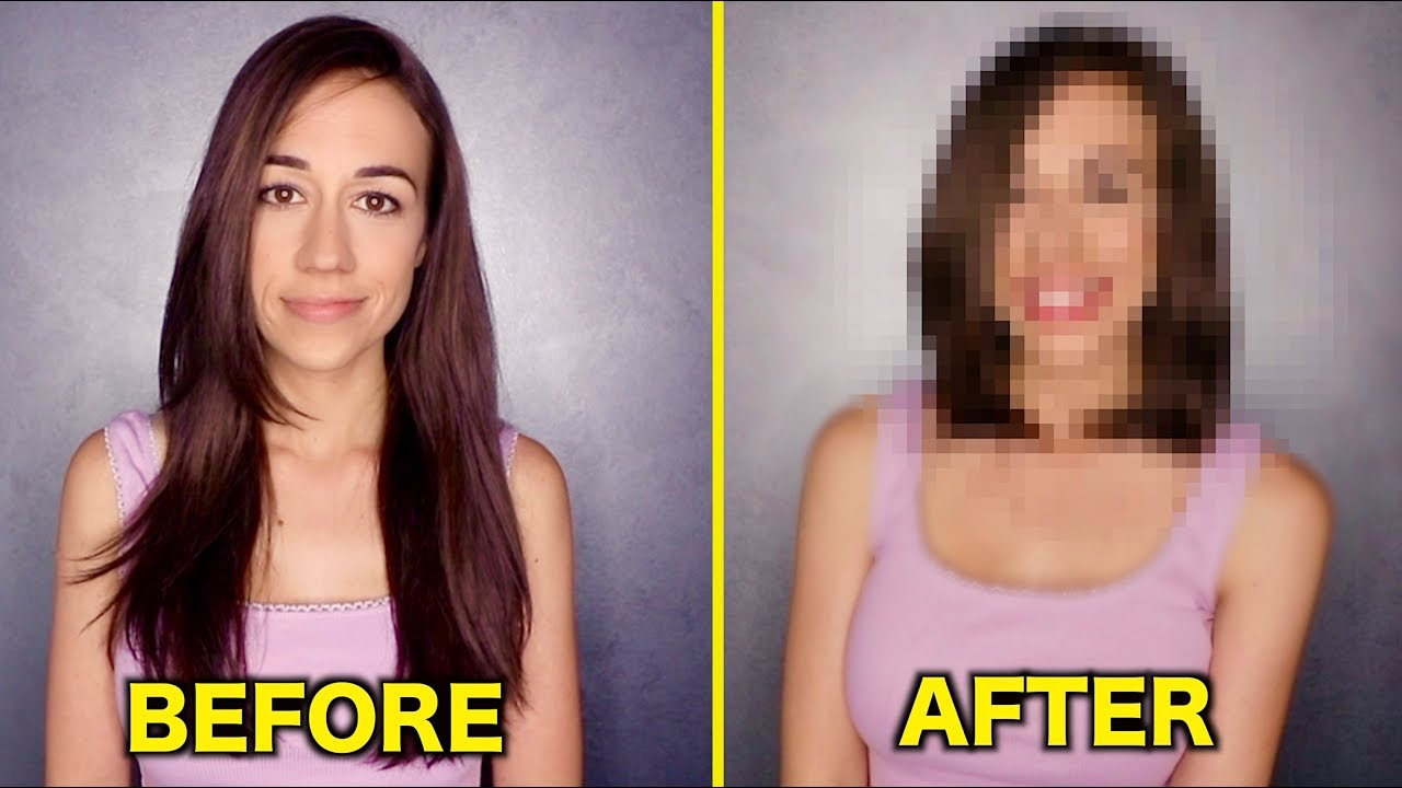 MY INTENSE HAIR MAKEOVER! image