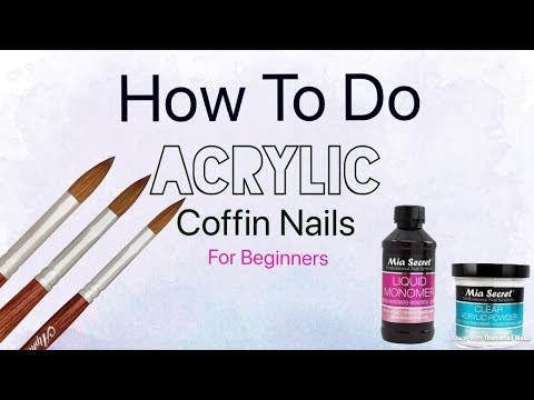 Acrylic Nails Full Set For Beginners | Step-by-step Nails