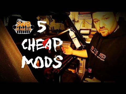 Five Cheap Mods You Should Do To Every Jeep Before You Hit The Trail