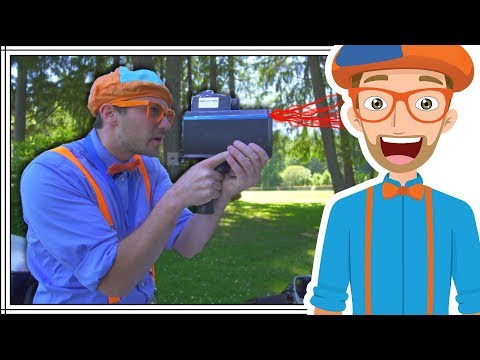 Thumbnail: Who Stole My Lunch? Blippi Children's Problem Solving Video