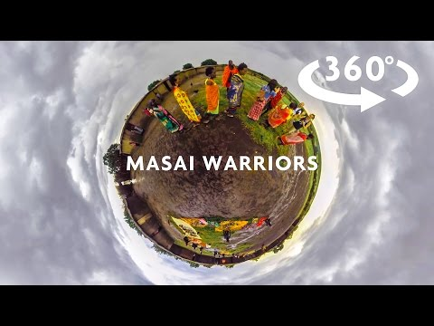 MASAI WARRIORS 360 VIDEO