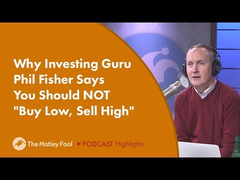 Why Investing Guru Phil Fisher Says You Should NOT
