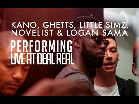 Kano, Ghetts, Novelist, Little Simz & Logan Sama Live at Deal Real Records [@frankinandmyrrh]