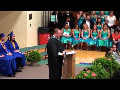 Elwood Community High School 2015 Graduation