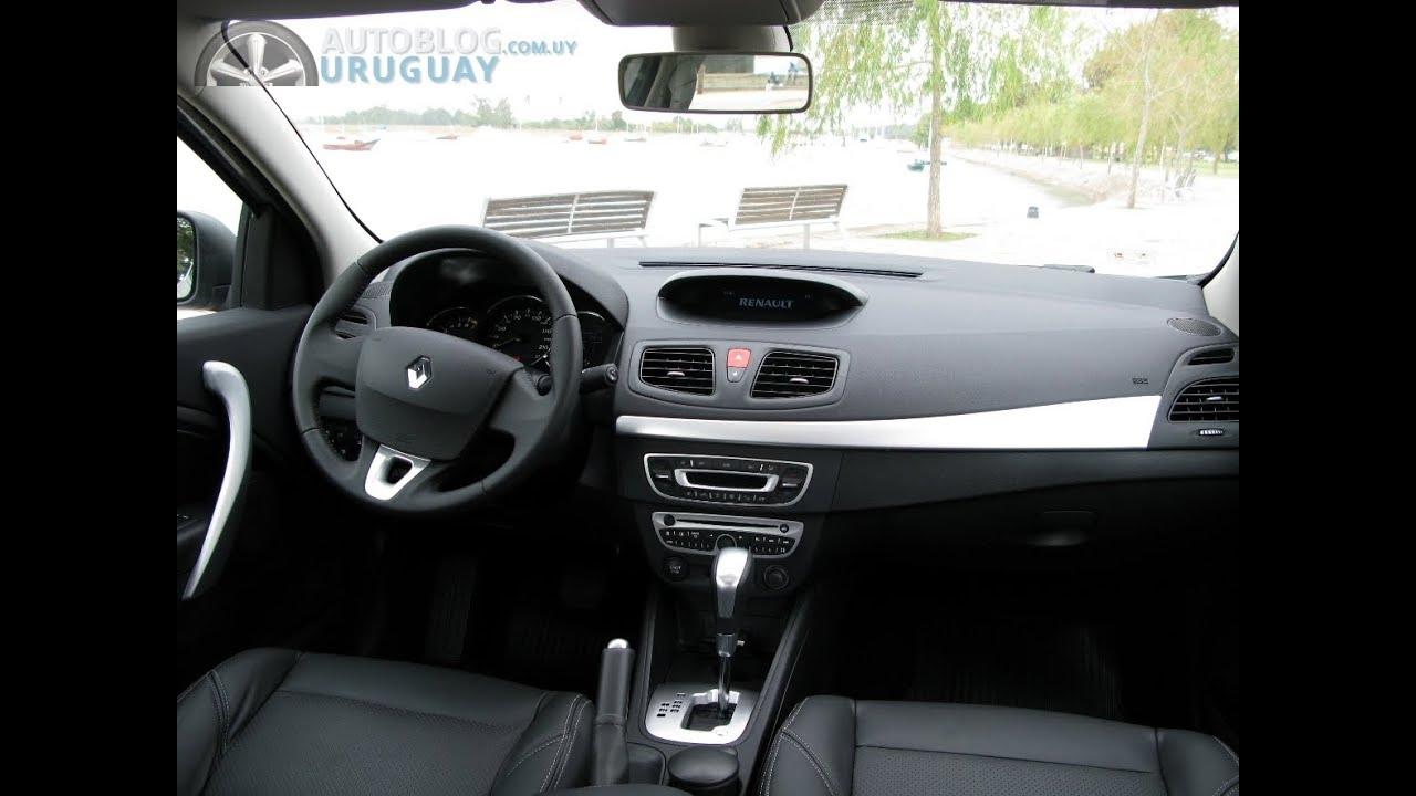 Prueba Renault Fluence An 225 Lisis Interior Parte 1 2