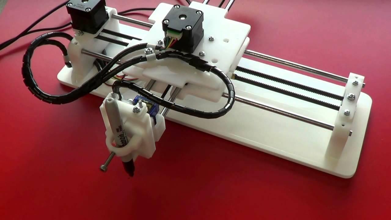 how to make axidraw machine