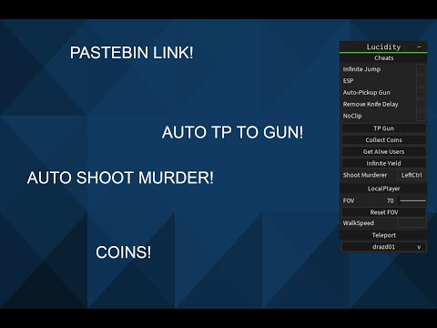 Roblox Infinite Yield Script Pastebin How To Get Robux By Doing New Roblox Script Murder Mystery 2 Kill All Custom Skills And More Youtube