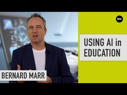 How is artificial intelligence (AI) used in education?