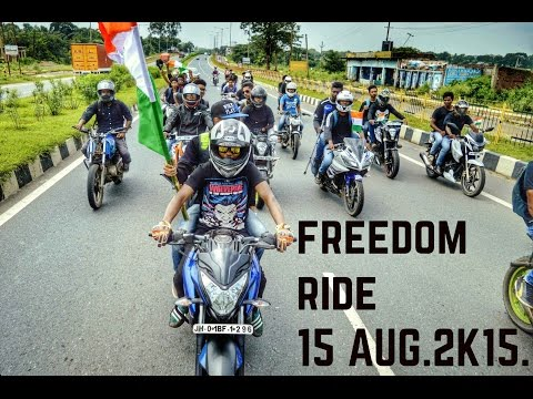 Freedom Ride- 15 August 2K15