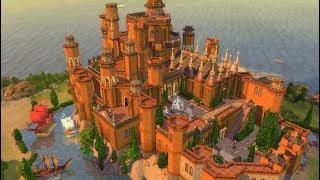 Игра престолов в Sims 4 - Как построить Красный замок