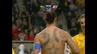 O Gol mais bonitos de todos os tempos! Golaço de Ibrahimovic!