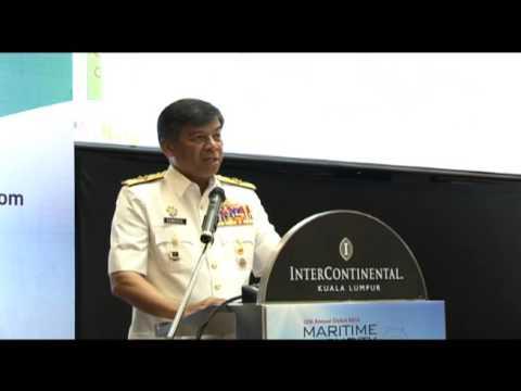 ROYAL MALAYSIAN NAVY - UCAPAN PTL di 12TH INTERNATIONAL MARITIME SECURITY AND COASTAL SURVEILLANCE