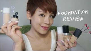 五天粉底測試 ♡ Foundation Review|Make Up For Ever, NARS, Shu Uemura, Giorgio Armani, Benefit