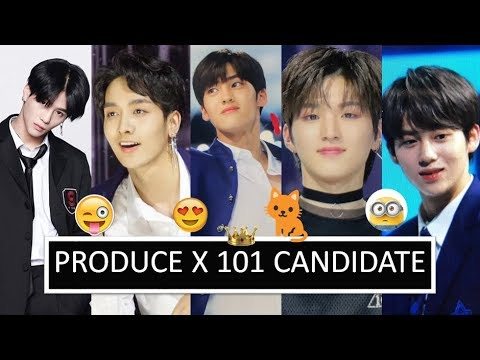 PRODUCE X 101 Candidates Mnet Introduction
