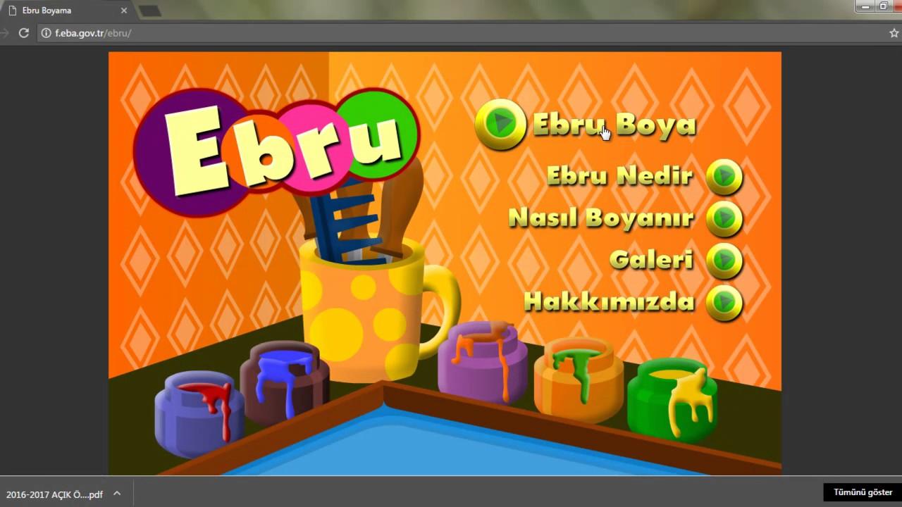 Ebru Boyama Youtube