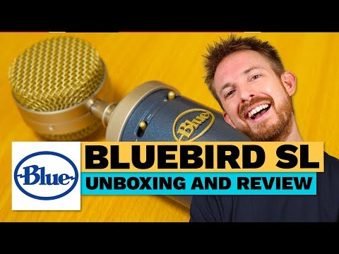 Blue Bluebird SL Unboxing and Review (Great Vocal Microphone)