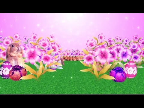happy easter 3d background free download youtube