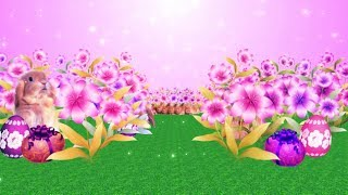 Happy Easter 3D Background Free Download