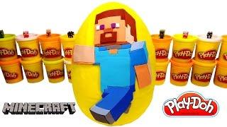 Minecraft Sürpriz Yumurta Oyun Hamuru - Minecraft Oyuncakları, Yenilmezler