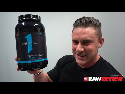 Rule One R1 Whey Blend Protein Powder Supplement | MassiveJoes Raw Review