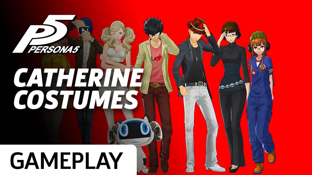 23f095e4b165b Persona 5 - Week 4 DLC Includes Catherine Goodness - YouTube