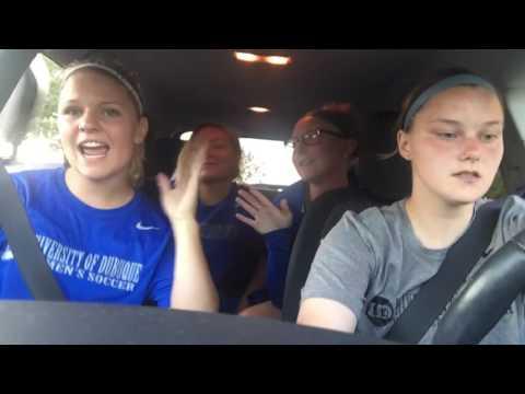 University of Dubuque Women's Soccer Carpool Karaoke