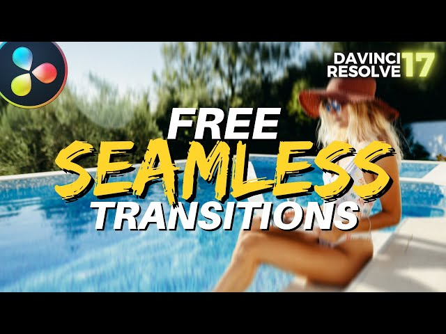 FREE MrAlexTech Ultimate Seamless Transitions pack for Davinci Resolve 17