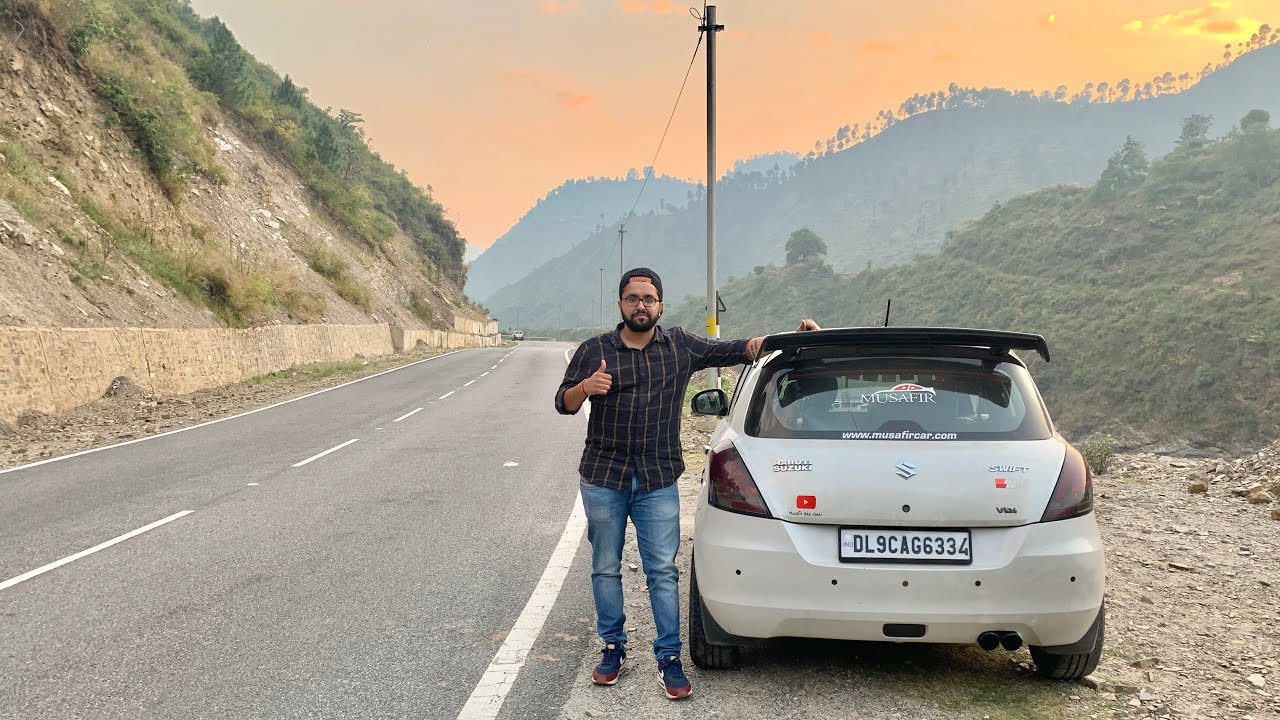 Taking My Swift For A Road Trip To Uttrakhand | Delhi-Haldwani-Nainital Road Trip | Modified Swift image