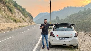 Taking My Swift For A Road Trip To Uttrakhand   Delhi-Haldwani-Nainital Road Trip   Modified Swift Video