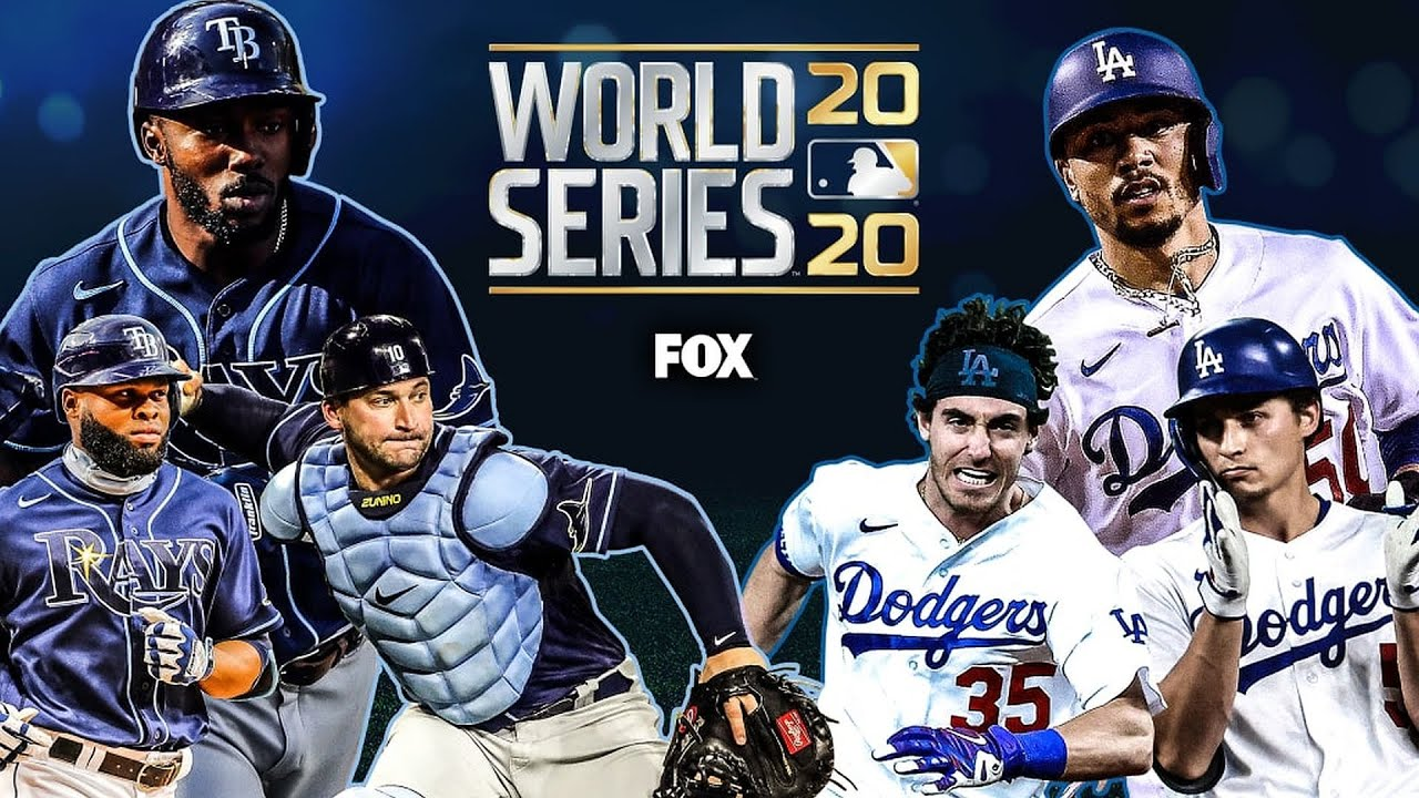 World Series 2020 - Tampa Bay Rays revel, Los Angeles Dodgers ...