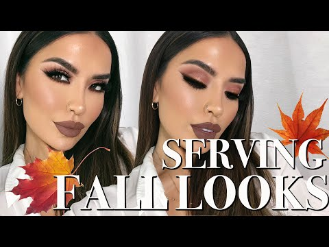 EARLY FALL BROWN AND NUDE GLAM |iluvsarahii thumbnail
