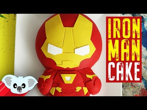 Iron Man Cake | Avengers Infinity War| Koalipops How To