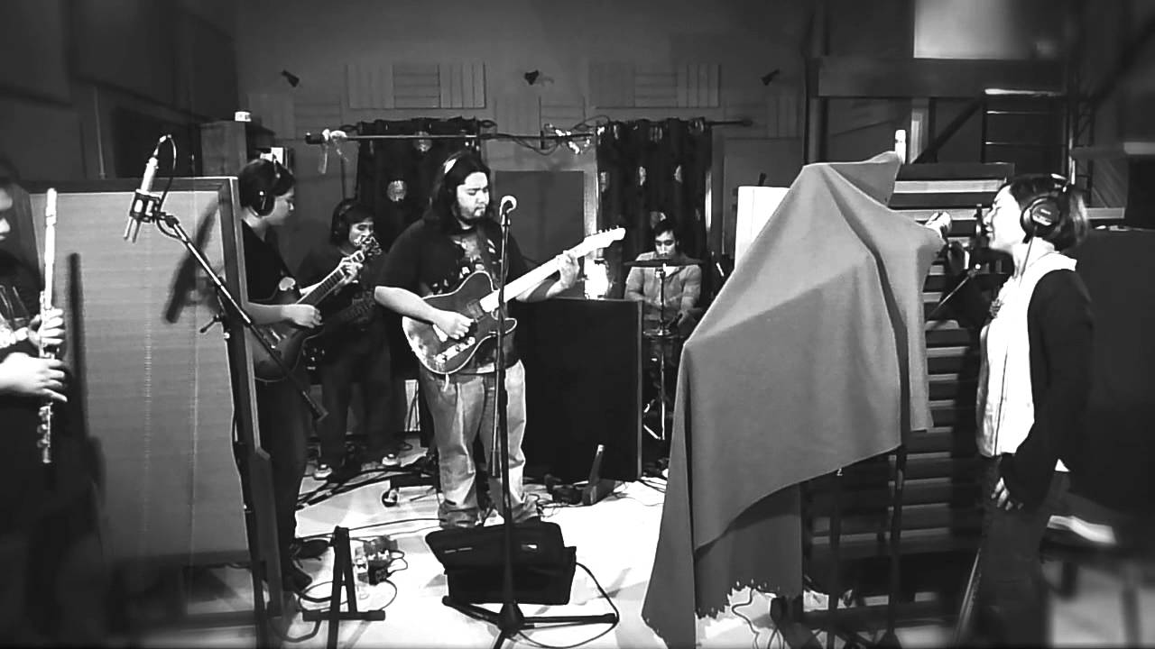 Mithi Pinoy Alt Rock Band Unwind Live In Recording Studio Session Youtube