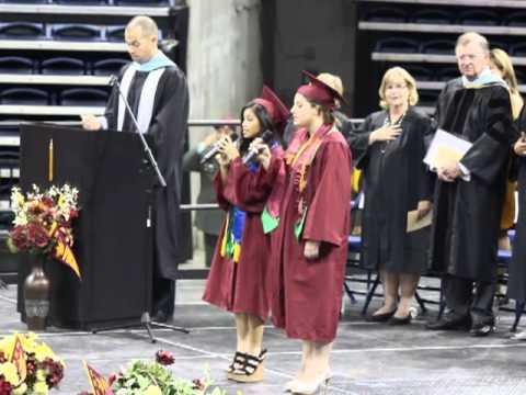 National Anthem - Edison Graduation 2013