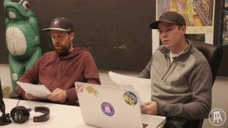 Nate, Frankie Borrelli and YP interview interns