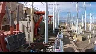 large transformer removal project hvdc station upgrade