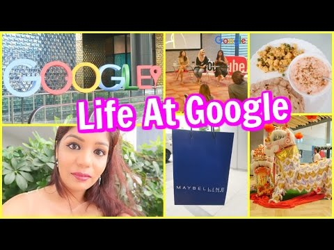 Life At Google Office | A Day In MY Life Vlog Singapore | SuperPrincessjo
