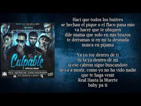 Culpable Remix (LETRA) - Mike Duran Feat Anuel AA, Noriel, Darkiel, Bryant Myers, Kevin Roldan