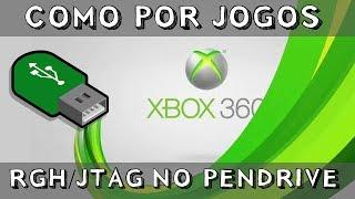 Como por Jogos RGH/Jtag no Pendrive no XBOX360