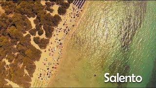 Salento visto dall'alto, riprese aeree di un drone sul Salento