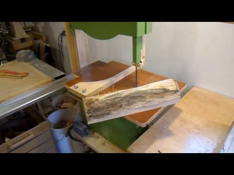 Cutting lumber from firewood