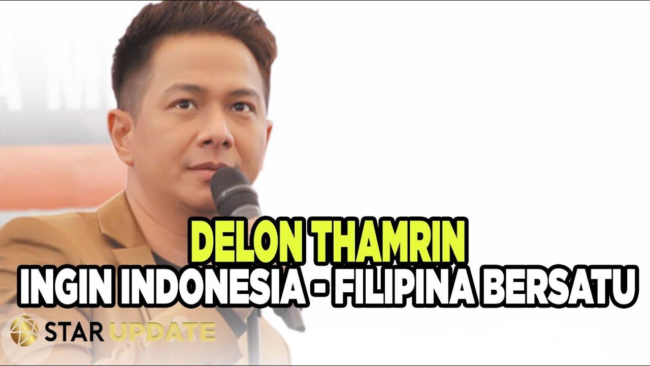 """Delon Thamrin Ingin Lagu """"We Are Here"""" Jadi Spirit Rakyat Indonesia-Filipina - Star Update - 09/07"""