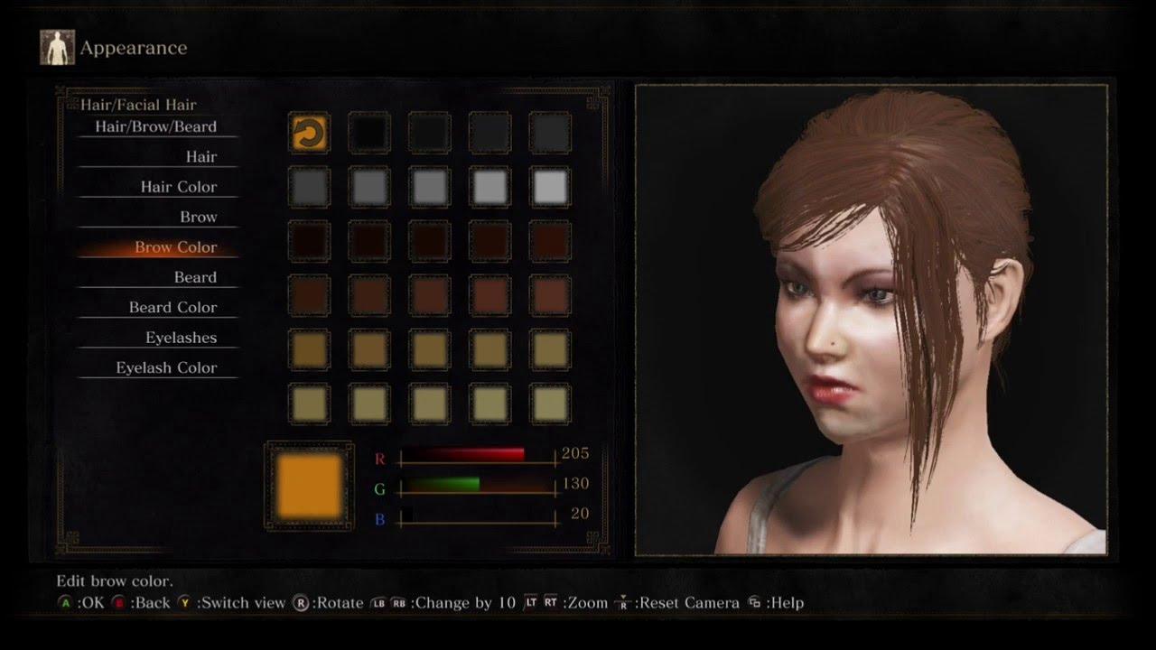 Building Dark Souls Female Characters
