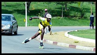 "Gambar cover Roller de vitesse Cameroun (Speed Skating ""Marathon"") + Freestyle Slalom & Yaoundé berlin"
