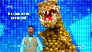 BALONLARIN EFENDİSİ Mehmet Mahmut Erdem'in balon gösterisi   Yetenek Sizsiniz Türkiye  2018