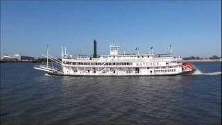 Steamboat  The SS Natchez IX,   New Orleans