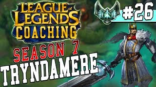 S7 LoL Coaching #26 - Tryndamere Top (Plat 4)