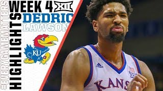 Dedric Lawson | Double-Double man