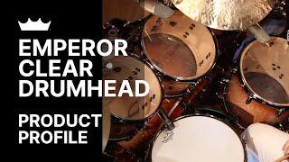 Remo: Emperor® Clear Drumhead